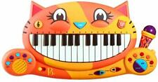 Meowsic Keyboard Boy Girl Learning Activity Sing Cat Piano * New *