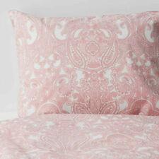 Ikea JATTEVALLMO Full/Queen Duvet cover and pillowcases pink/white - NEW