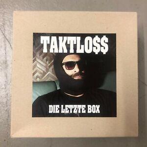 TAKTLOSS - DIE LETZTE BOX - Limited Box Edition FDB - unvollständig, lesen !