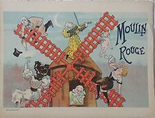 "MISTI ""PROGRAMME DU MOULIN ROUGE"" 1896"