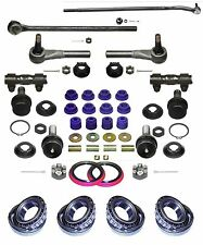 Ford F150 4 Wheel Drive Replacement 17 Piece Steering Kit for years  1980 -1985