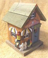 Birdhouses-Rustic Bed & Breakfast-Wood Bird House-Yard Garden Decor-Very Nice