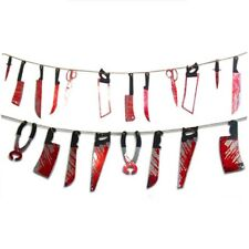 Halloween Horror Props Hanging Bloody Garland Banner Party Decoration