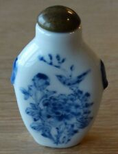 Chinese Snuff Bottle tabatières chinoise en porcelaine