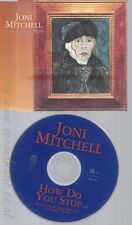CD--JONI MITCHELL--HOW DO YOU STOP--PROMO
