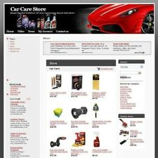 Established Car Care Online Affiliate Business Website For Sale! Free Domain Now