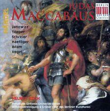 HÄNDEL : JUDAS MACCABÄUS - HELMUT KOCH / 2 CD-SET - TOP-ZUSTAND