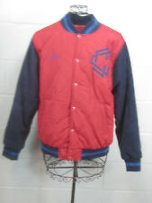 Crooks & Castles Men's Thieves Red & Blue Bomber Varsity Jacket Size M Medium