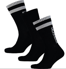 Calvin Klein homme col rond cheville 3 Paires sports gym chaussettes RU 6.5-11
