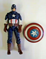 "Marvel Universe Avengers Captain America 3.75"" Inch Action Figure 1:18 Scale Toy"