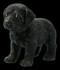 Hunde Figur - Schwarzer Labrador Welpe