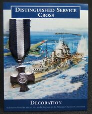 DISTINGUISHED SERVICE CROSS - Contemporary Miniature Medal -Crowned Royal Cypher