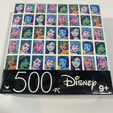 Disney Princess Jigsaw Puzzles 500 Piece Puzzle Disney New Sealed! - Cardinal