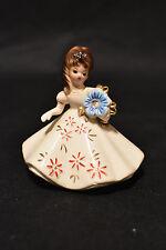 Vintage Josef Originals! Doll Of The Month Figurine! December! Birthstone! Nice!