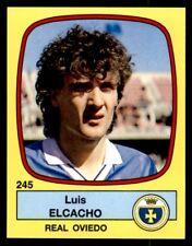 Panini Futbol 89 (España) Luis Elcacho Real Oviedo Nº 245