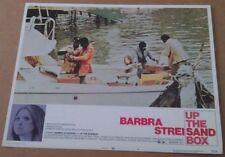 UP THE SANDBOX MOVIE POSTER LOBBY CARD #6 1973 ORIGINAL 11x14 BARBARA STREISAND