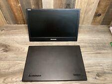 "Lenovo Think Vision LT1421WD 1452-DM6 14"" Portable USB Monitor - CRACKED COVER"