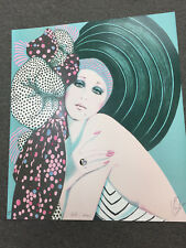 """""""JUST A DREAM"""" BY MARY VICKERS- SIGNED LTD. EDITION  MIXED MEDIA PRINT #224/325"""