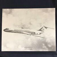 Vintage VC-9C McDonnell Douglas Vendor Aircraft Print