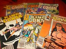 Conan (mixed lot set of 6) see list