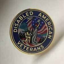 Disabled American Veterans Lapel Pin Biker Hat DAV