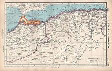 1952 MAP ~ ALGERIA & MOROCCO ~ CONSTANTINE ORAN