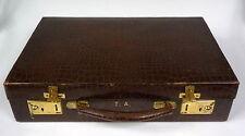 Schreibkoffer Koffer Patent london um 1900
