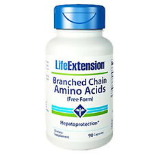 BCAA Branched Chain Amino Acids - Life Extension L-Leucine/L-Isoleucine/L-Valine