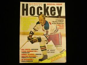 December 1973 Sports Review Series Hockey Magazine - Bobby Hull Cover
