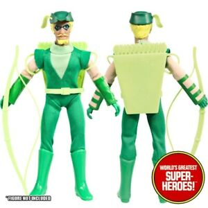 Mego Green Arrow JLA COMPLETE Outfit Repro Boots Hat Bow Pack 8 inch Figure WGSH