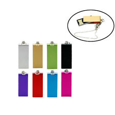 Fashion Mini Metal Rotate Model USB2.0 8-64GB flash drive memory stick pendrive