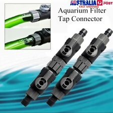 12-22mm EHEIM Aquarium Filter Hose Tubing Double Tap Connector Control Valve