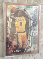 1996-97 Topps Finest Kobe Bryant #74 Rookie Card RC Lakers MINT