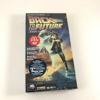 Vintage BACK TO THE FUTURE VHS McDonalds Promo 1994 Factory Sealed Collectible