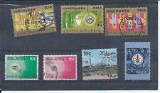 Malaysia stamps. 1975 Malaysian Rubber Research set used. See description (Y943)
