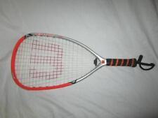 Vtg Original Wilson Hyper Carbon Ultralite Rollers Raquetball Racket Racquet