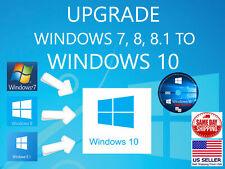 Windows 10 DVD Upgrade From Windows 7 Windows 8 or Windows 8.1