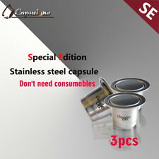 refillable reusable sticker lid capsules fit for Nespresso/sealpod cafe machine