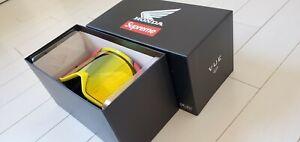 Supreme Honda Fox racing Vue Goggles New Deadstock DS 2019 Red FW 19 Dead Stock