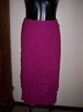 Regular Size Solid Mid-Calf A-Line Skirts for Women