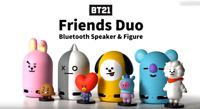 [BTS BT21] Official Authentic Goods Friends Duo Bluetooth Speaker + Figure 4Type