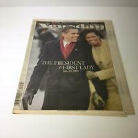 NY Daily News: Jan 19 2009 Barack Obama A Glorious Beginning Excellent Condition