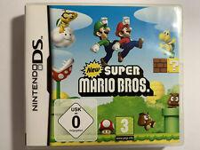 New Super Mario Bros Nintendo DS Sehr guter Zustand mit Beschreibung und OVP