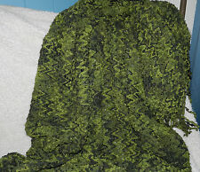 GORGEOUS HAND CROCHETED THROW IN GREENS! WOW!!