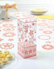 6 coral flower floral centerpiece wedding centerpieces party decoration