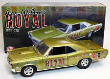 Acme A1801206 Ace Wilson's Royal 1966 Pontiac GTO Tiger 1:18 Scale Diecast