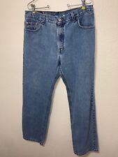 Levi's Vintage Womens 555 Sz 14 JM  jeans Hi-Waist Boyfriend MOM Guy's Fit