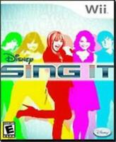 Disney Sing It [Nintendo Wii]