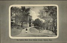 Chelsea MA Soldiers Home Hillside Ave c1910 Postcard