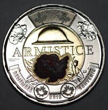 Canada 2018 2 Dollar BU Canadian Toonie Armistice Coloured Uncirculated Coin